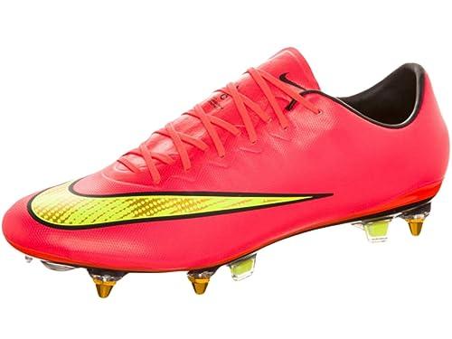sprzedaż jakość wykonania najnowszy Nike Mercurial Vapor X SG-PRO Soccer Shoes Hyper Punch/Gold ...