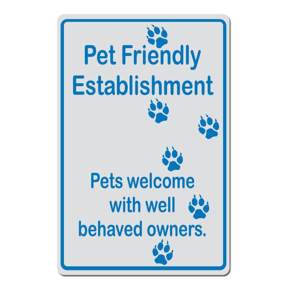 ペットに優しいestablishment、ペットWelcome with with Well Behaved所有者犬Pawprintバージョン – 15