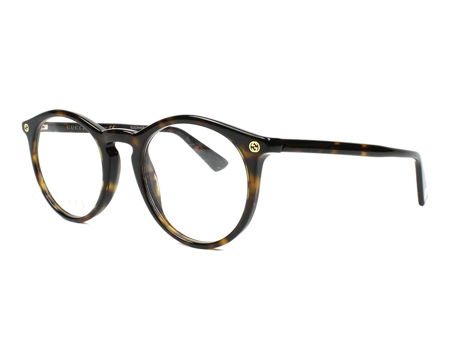 3c5d17a16aa Amazon.com  Eyeglasses Gucci GG 0121 O- 001 BLACK    Clothing