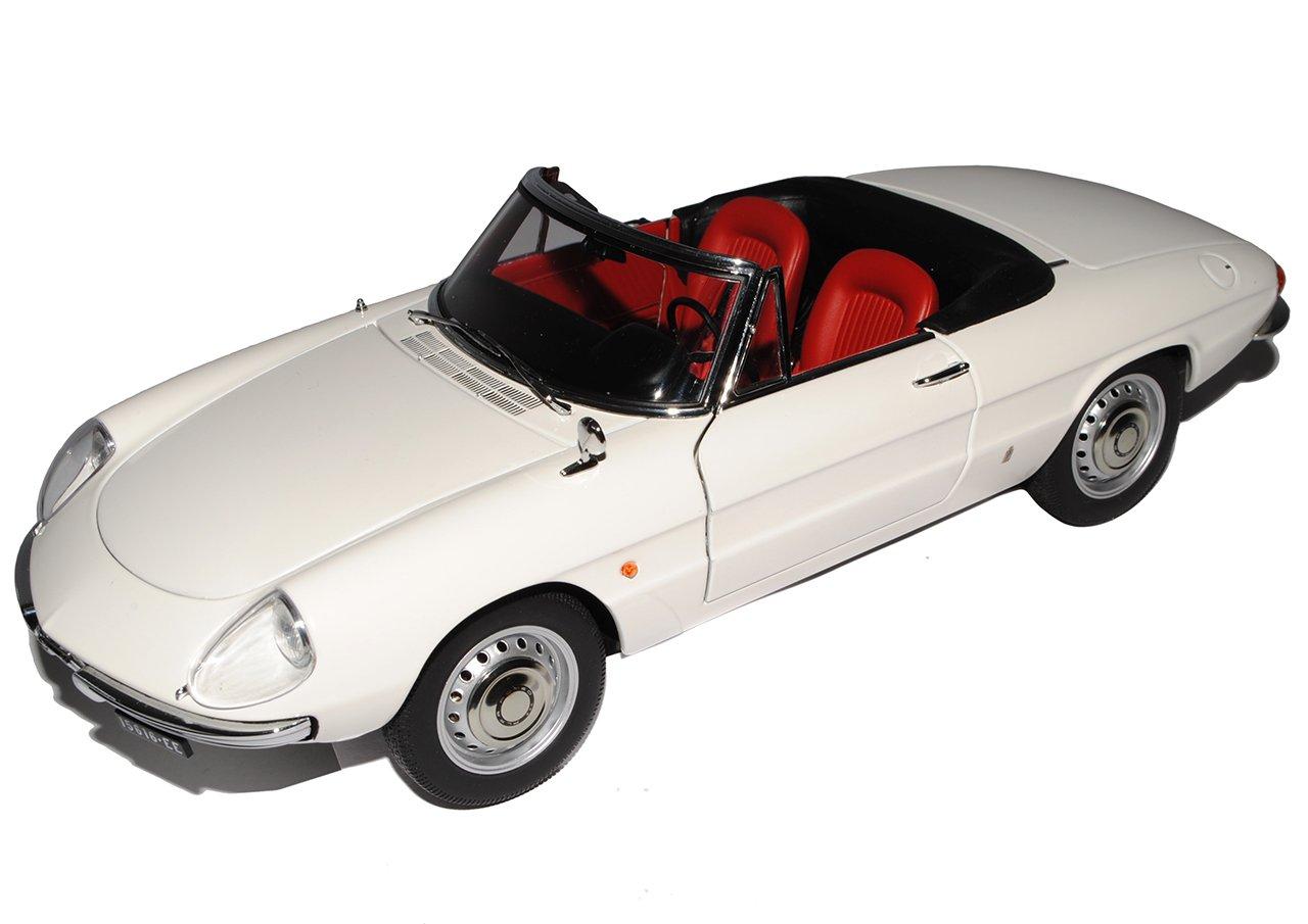 AUTOart Sonderposten Alfa Romeo 1600 1966 Spider Duetto Cabrio Weiss 70136 1/18 Auto Art Modellauto Modell Auto
