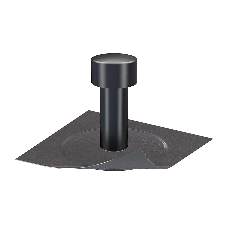 Kl/öber Flachdach Entspannungsl/üfter Dachraumbel/üfter DN 70 Bitumen-Anschluss