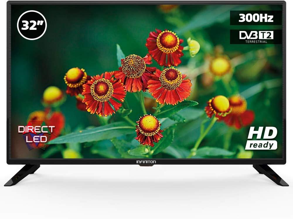 Televisión INFINITON, Full HD Ready, USB, TDT2 (32 Pulgadas): 121.51: Amazon.es: Electrónica