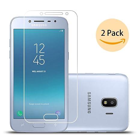 Ecoye Samsung Galaxy J2 Pro 2018 Protection Ecran En Verre Trempe2 Pieces