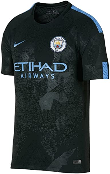 Amazon Com Nike Manchester City Fc Fc Stadium Jersey Outdoor Green Xl Sports Outdoors