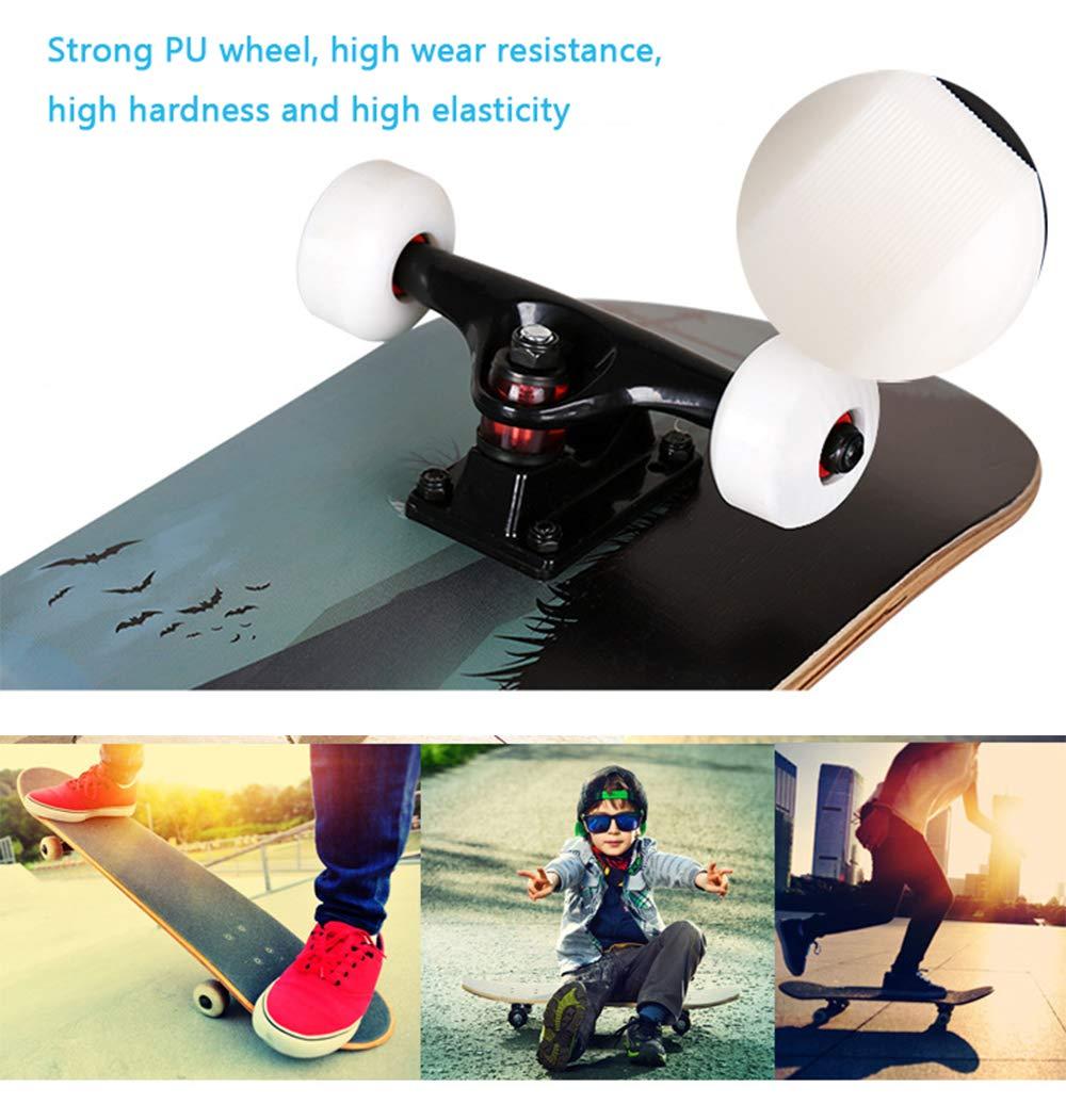 MIMI KING KING KING 31 Zoll Skateboards Für Anfänger Jungen Mädchen Erwachsene Kinder B07H191NL7 Skateboards Attraktiv und langlebig 173f8d