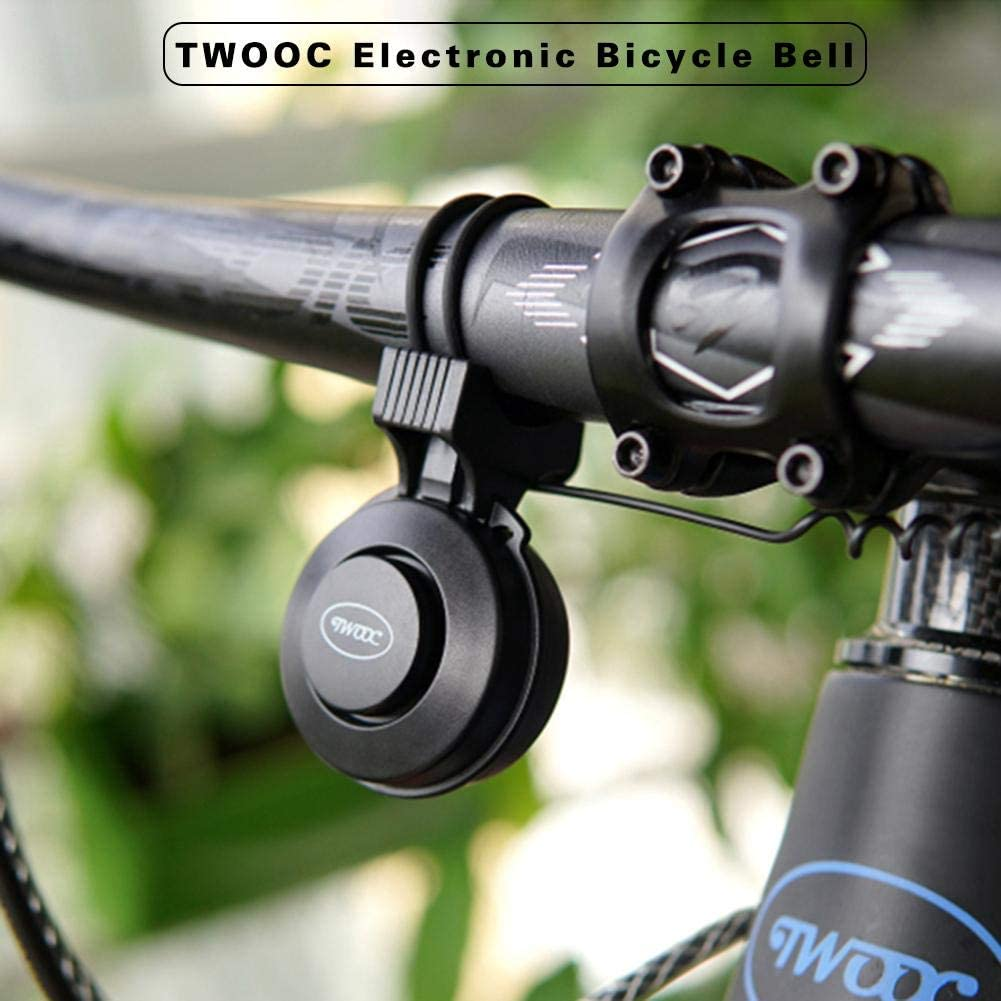 Krystallove Timbre eléctrico para Bicicleta, Recargable, Resistente al Agua, Control de Volumen, Sonido de 3 Cuernos, fácil instalación, Accesorios para Bicicleta T-002S: Amazon.es: Hogar