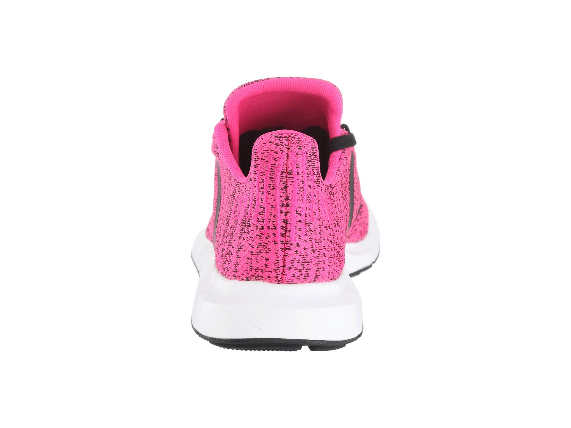 adidas Originals Kids Girl's Swift Run J (Big Kid) Shock Pink/Black 4.5 M US Big Kid by adidas Originals (Image #3)
