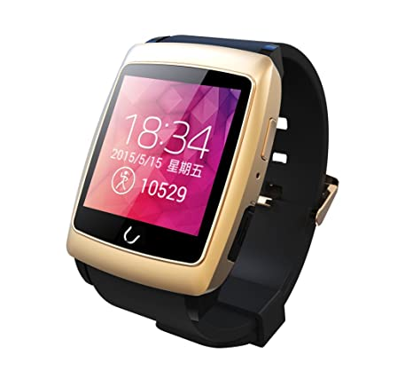 Amazon.com: Uwatch U18 Smartwatch 1.6inch IPS Screen Dual ...