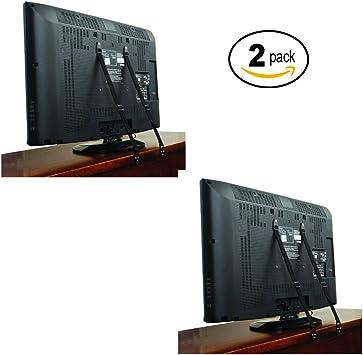 TV correa de seguridad/correa de TV antivuelco (4 pcs + todos los ...