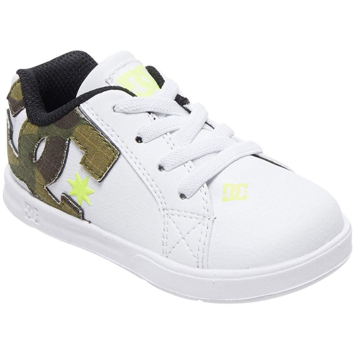 DC Kids Court Graffik Elastic Se Ul Sn Skate Shoe