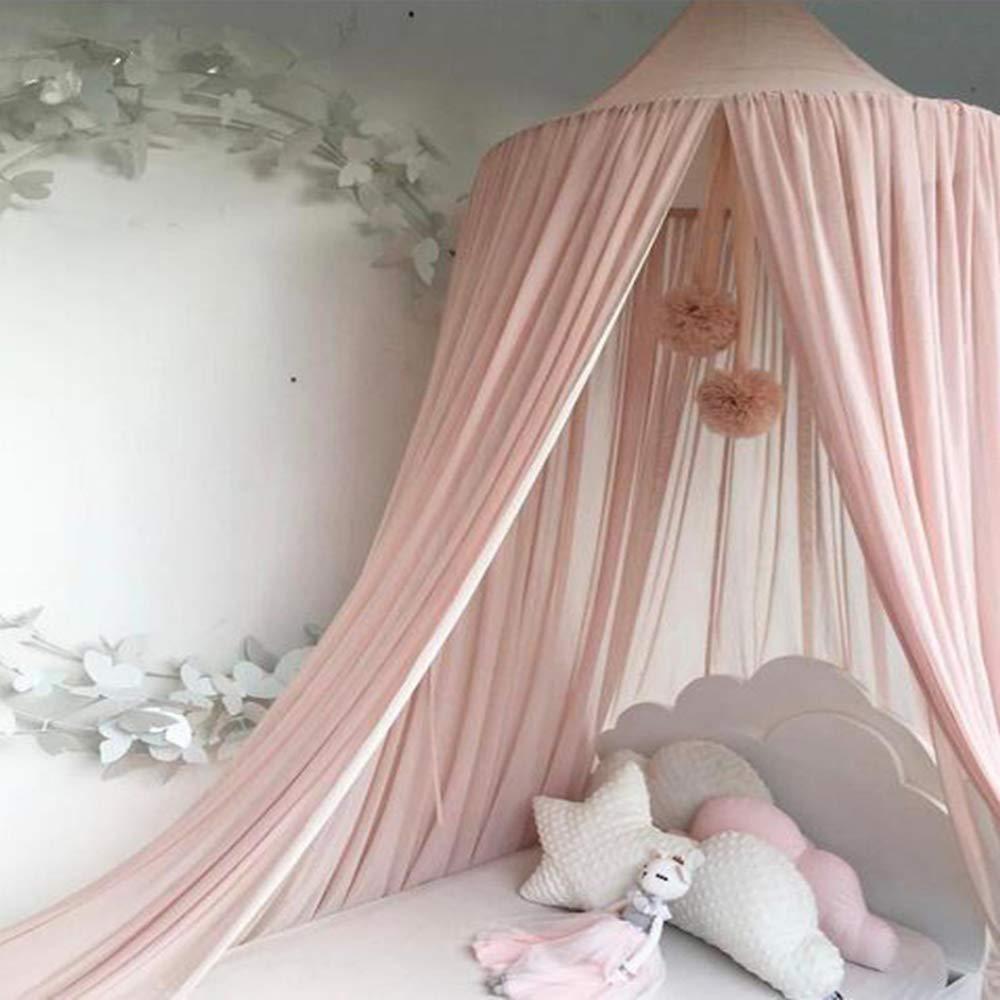 Dyna-Living Moskitonetz Baby Betthimmel Kinder Baldachin Mückennetz  Mückenschutz Insektenschutz Insektennetz Bett Schlafzimmer Kids Bed Canopy
