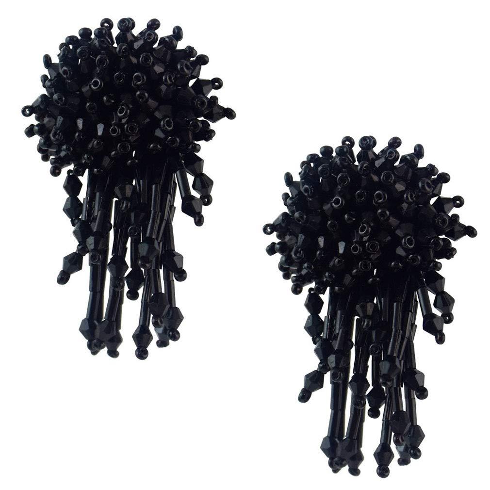 Jinxian Drop Earrings Graceful Dangling Fashion Studs Elegant