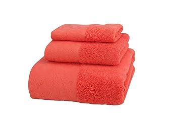 Belleza vida Futura toallas 3 piezas Algodón se puede lavar a máquina. Juego de toallas