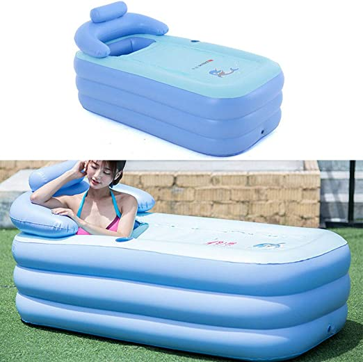 MINUS ONE Portable Adult SPA PVC Bañera Plegable Bañera Inflable ...
