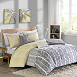 Intelligent Design ID10-750 Comforter Set Full/Queen Yellow