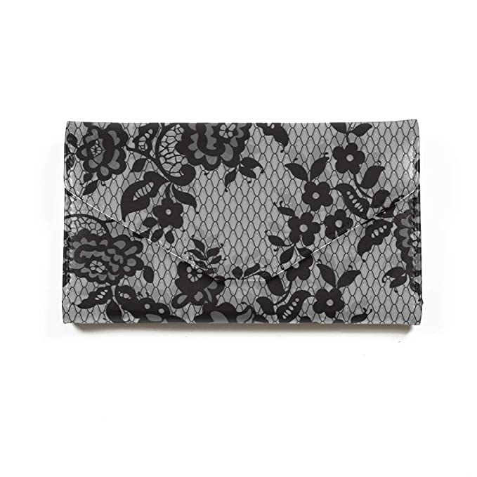 Amazon.com | Fashion Trend Lace Print Travel Passport Wallet ...