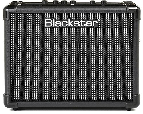 Blackstar ID:Core Stereo 10 V2 Guitar Amplifier Bundle with Instrument Cable, Picks, and Austin Bazaar Polishing Cloth