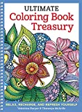 Ultimate Coloring Book Treasury: Relax, Recharge, and Refresh Yourself (Design Originals) 208 Pages of Beautiful One-Side-Only Designs on Extra-Thick, Perforated Paper in a Spiral Lay-Flat Binding by Valentina Harper, Thaneeya McArdle