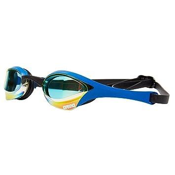 842f6f55c3ed Arena Cobra Ultra Mirror - Gafas de natación, Color Amarillo y Azul ...