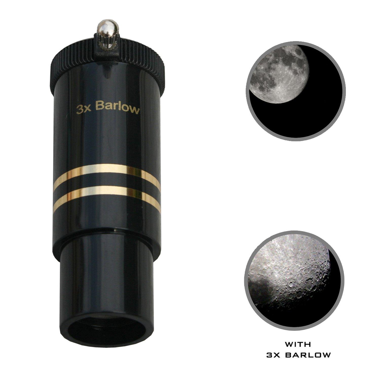 1.25'' Format 3X Barlow Lens by Cassini