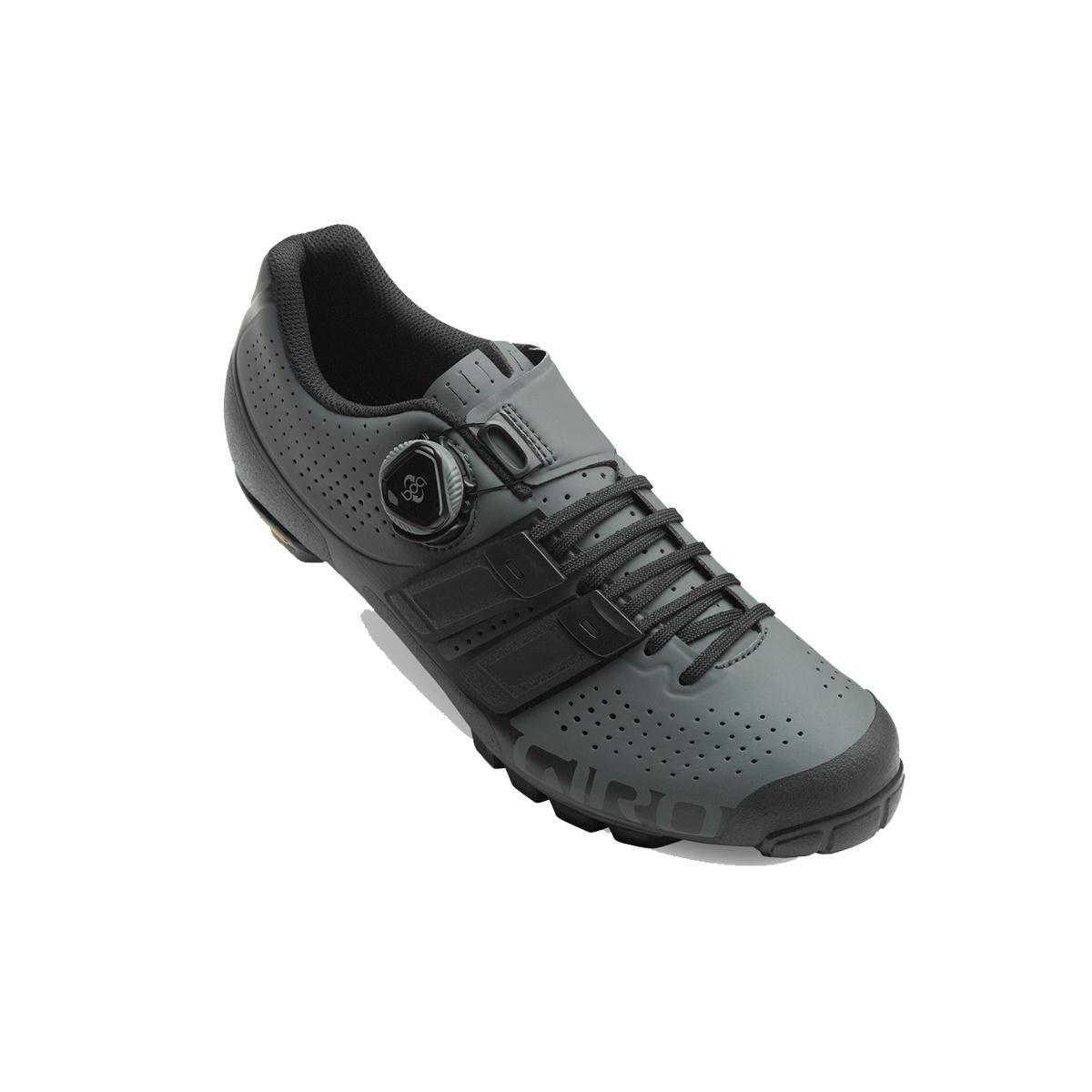 Giroコードtechlace Cycling Shoes – Men 's 44.5 M EU ダークシャドー/ブラック(Dark Shadow/Black) B075RR9XKB