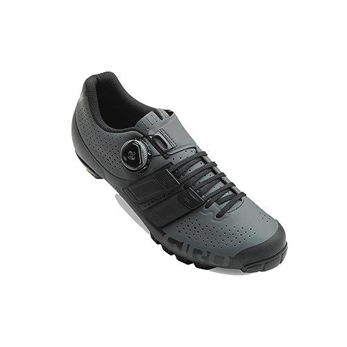 Giro Code Techlace MTB, Scarpe da Ciclismo Uomo, Multicolore (Dark Shadow/Black 000), 44.5 EU
