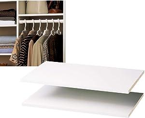 "Easy Track RS1423 24"" White Easy Track™ Shelves 2 Count"