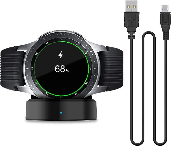 Cargador para Samsung Galaxy Smart Watch 42 mm 46 mm, Base de ...