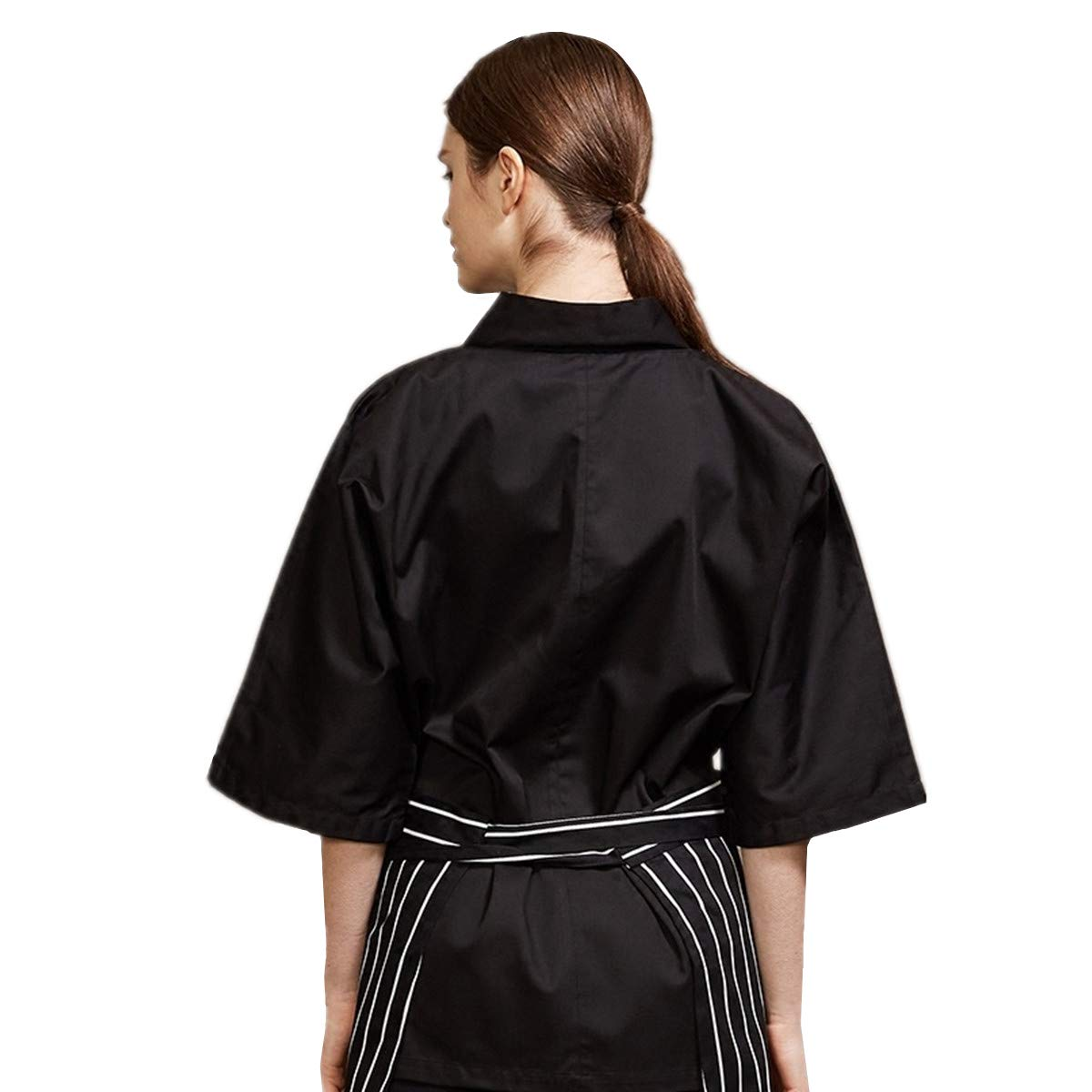 Amazon.com: Xinfu de chef japonés Kimono Uniforme de Trabajo ...