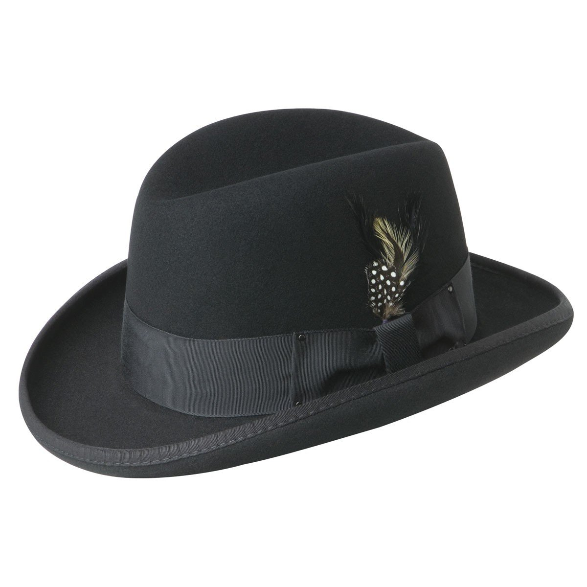 Bailey of Hollywood Godfather Hat Black/XX-Large