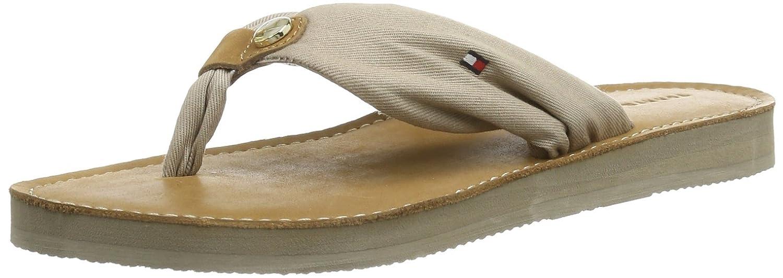 e80d0699f Tommy Hilfiger Women s MONICA 14C Thong Sandals Beige Beige (COBBLESTONE  007) 40  Amazon.co.uk  Shoes   Bags
