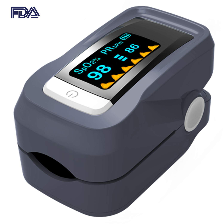 30% off haocoms Pulse Oximeter Fingertip Blood Oxygen Saturation Monitor