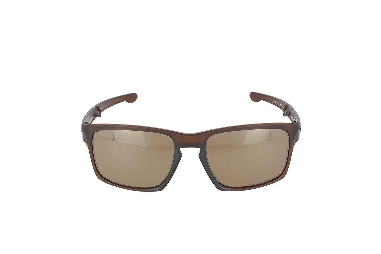 Oakley Sonnenbrille Sliver, Mttdarkamberw/Tungsteniridpolar, One size, OO9246-05