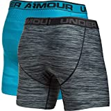Under Armor Men's Original Series Printed Boxerjock 2-Pack, Blue Shift/Steel, X-Large