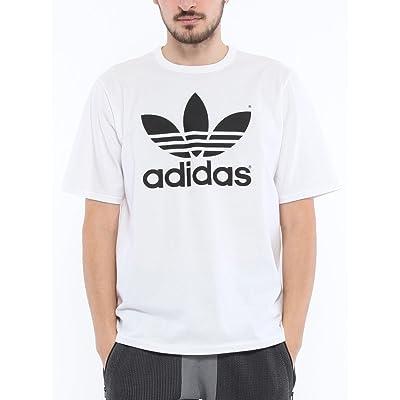 (アディダス) adidas ロゴプリント クルーネック 半袖 Tシャツ [ADCW1342]