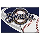Milwaukee Brewers Tufted Rug (20-inch x 30-inch)