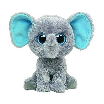 a0b073bcdb5 Amazon.com  Ty Beanie Boos - Peanut the Elephant(6 inch)  Toys   Games