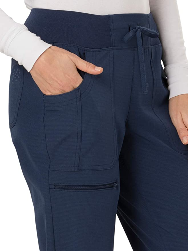 8d967ca3f0f Amazon.com: HeartSoul Break On Through Women's The Jogger Low Rise Tapered  Leg Scrub Pant: Clothing