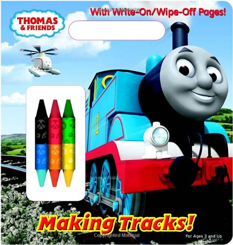 Making Tracks! (Thomas & Friends) (Write-On/Wipe-Off Activity -