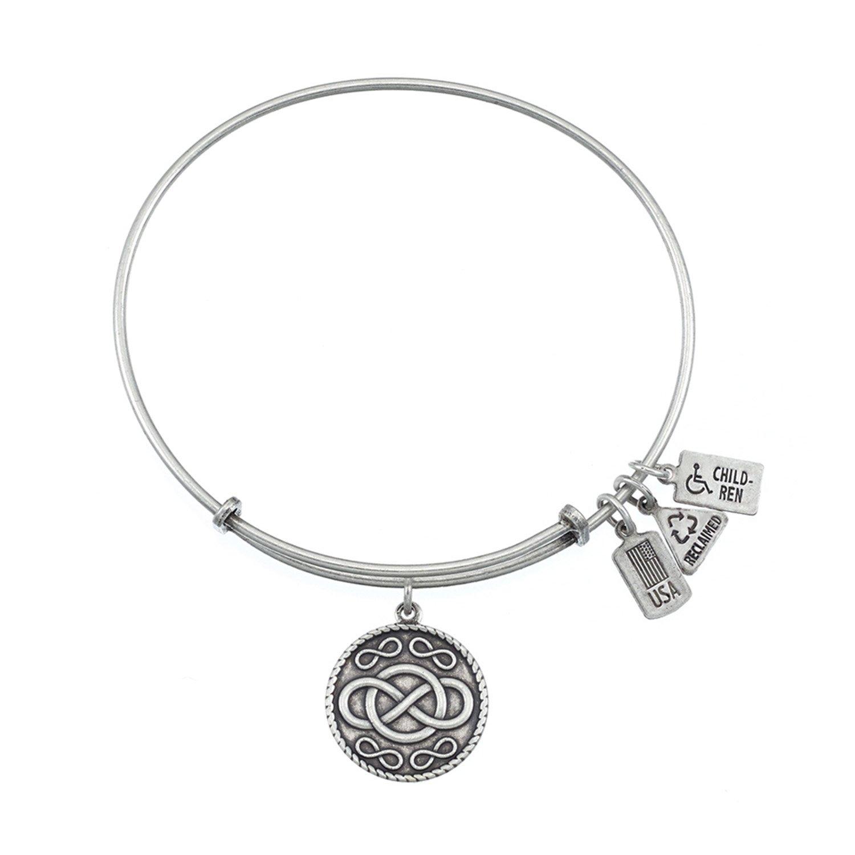 Amazon Wind & Fire Infinity Charm Bracelet in Gold Tone Jewelry