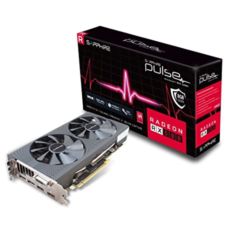 Sapphire Pulse Radeon RX 580 8GD5 - Tarjeta gráfica, AMD, 3840 x ...