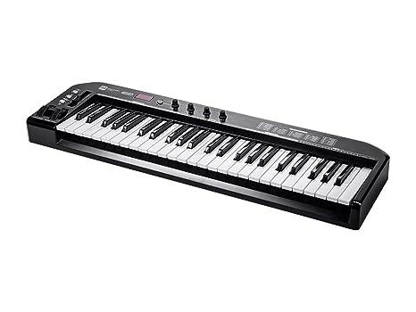 Monoprice 606607 49-key teclado MIDI controlador – negro