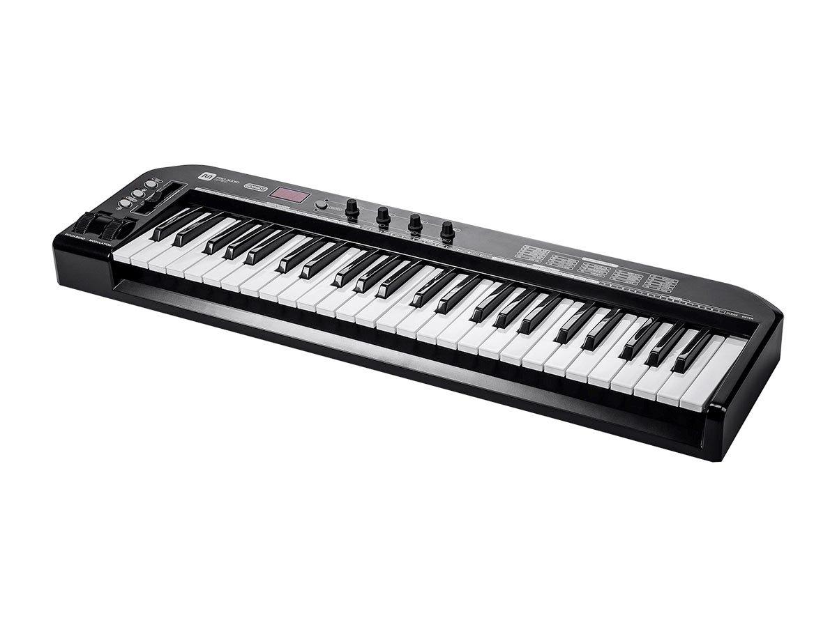 Monoprice 606607 49-Key MIDI Keyboard Controller - Black