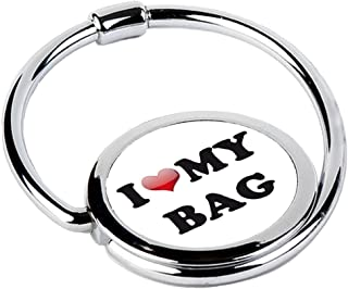 MISS KHA - Accroche Sac Pliable I Love My Bag CIRCLE-45