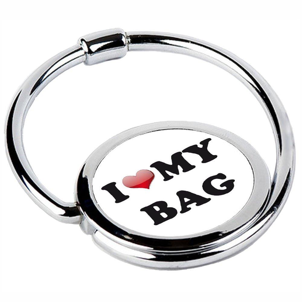 Miss Kha Halterung für Einkaufstaschen, klappabr, Design: I Love My Bag CIRCLE-45