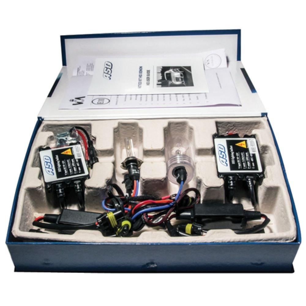 ASD TECH KITXENONH7 6 Kit Xé non H7 Simple 6000K 35W Slim Ballast KITXENONH7  6