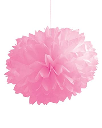 Amazon Com Club Pack Of 36 Cotton Candy Pink Fluffy Hanging Tissue