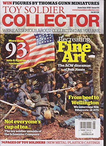 (Toy Soldier Collector Magazine June/July 2015)