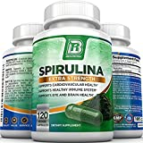 BRI Nutrition Spirulina - 2000mg Maximum Strength Supplement - 61EsWZdWhqL - BRI Nutrition Spirulina – 2000mg Maximum Strength Supplement