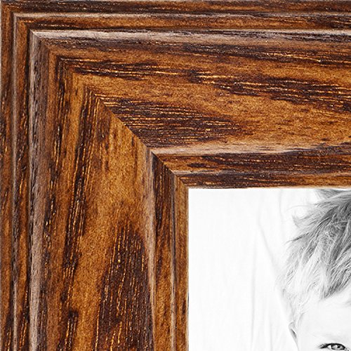 ArtToFrames 12x36 inch Honey Oak Wood Picture Frame, 2WOM01336-150-12x36 (Reclaimed Table Oak Top)